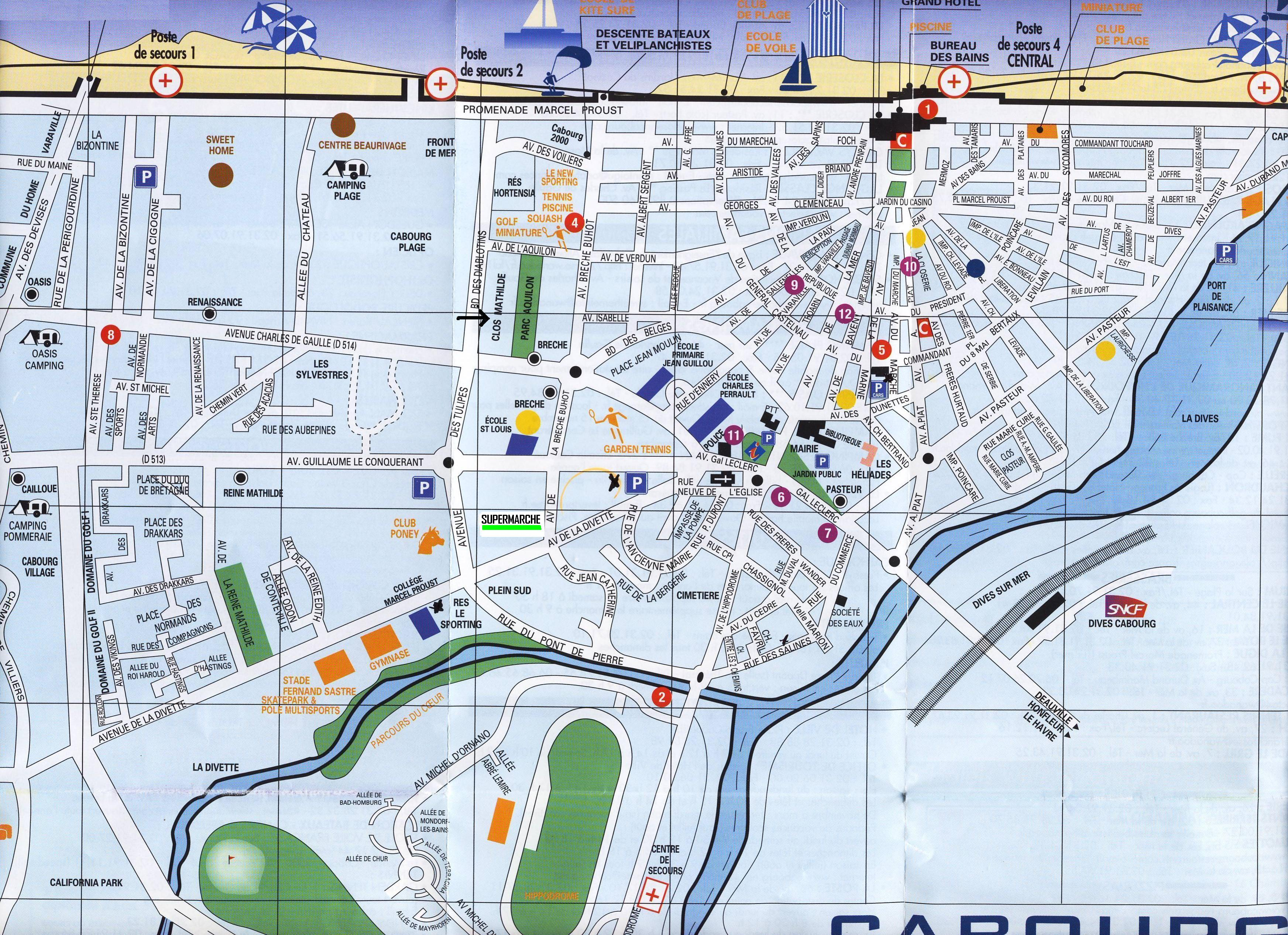 Plan Cabourg